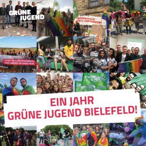 Ein Jahr Grüne Jugend Bielefeld!